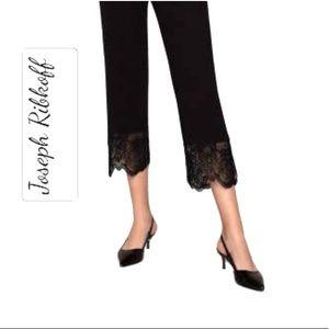 joseph ribkoff lace trim embroidery capri styles